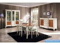 V. Villanova: витрина 2-х дверная  (bianco+cilegio)