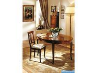 V. Villanova: Infinity: стол овальный раскладной  (cilegio madeira)