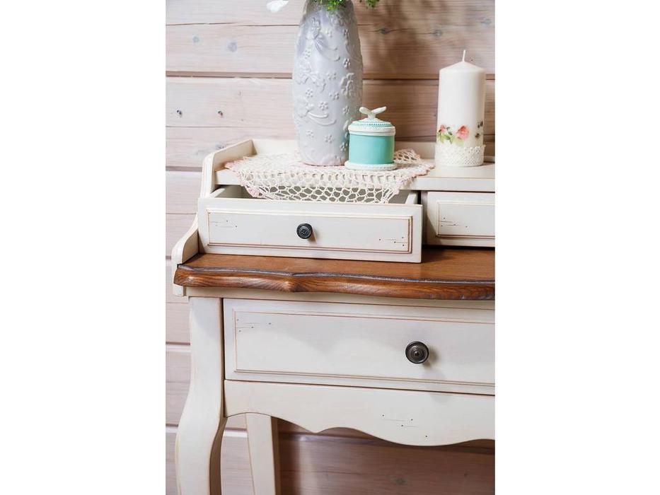 Mobilier de Maison: Belveder: бюро  (белая карамель)