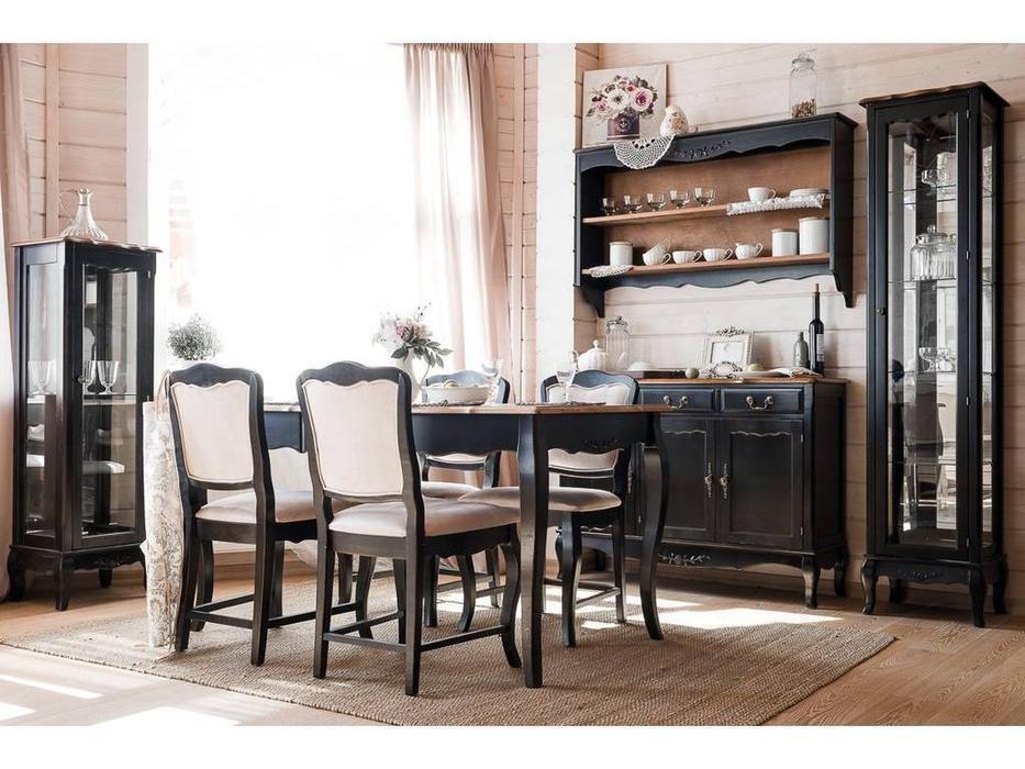 Mobilier de Maison: Belveder: стол обеденный раскладной  (черный сапфир)