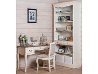 Mobilier de Maison: Belveder: стеллаж  (белая карамель)