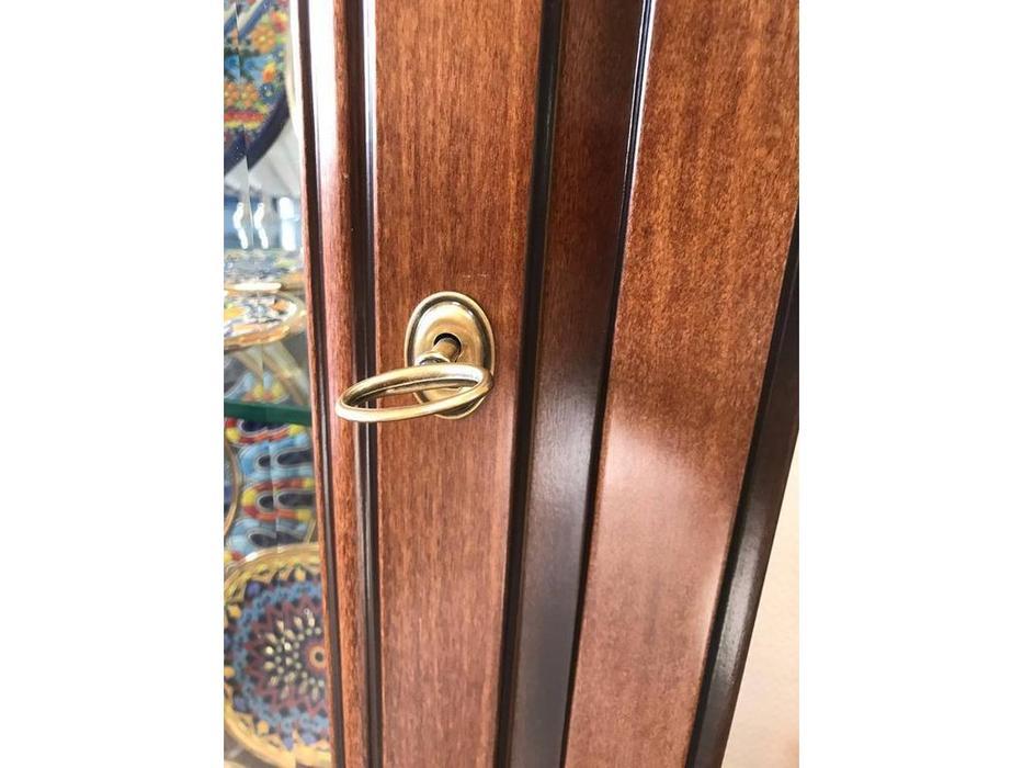 Liberty: Флоренция: витрина  1 дверная с подсветкой правая (вишня)