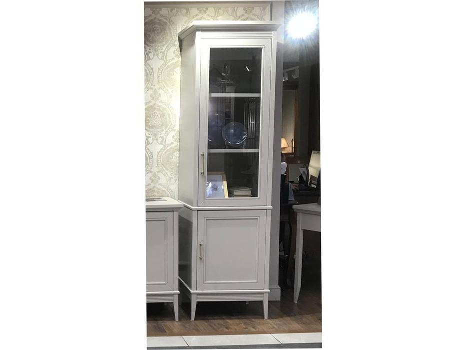 Liberty: Берген: витрина 1 дверная правая  (белый)