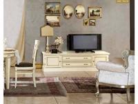Liberty: Венеция: тумба под телевизор 2 ящика + 2 двери  (белый)
