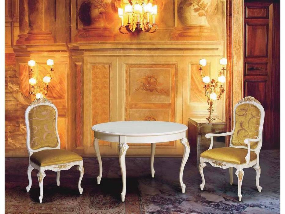 Morello Gianpaolo: Gabriella: стол обеденный  (white)
