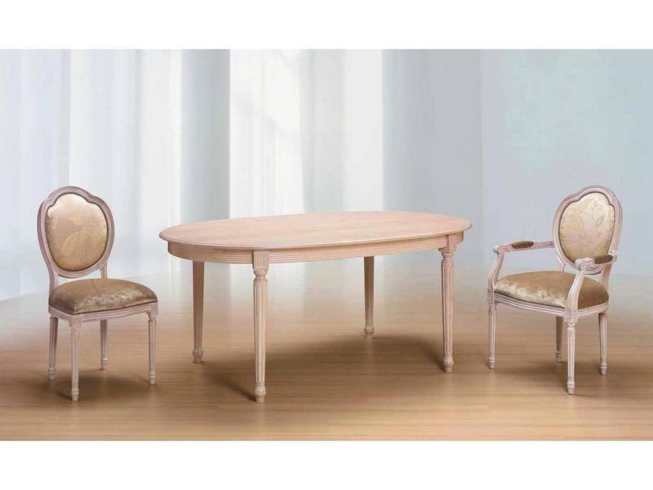 Morello Gianpaolo: Luigi Arcata: стол обеденный  (decape naturale)