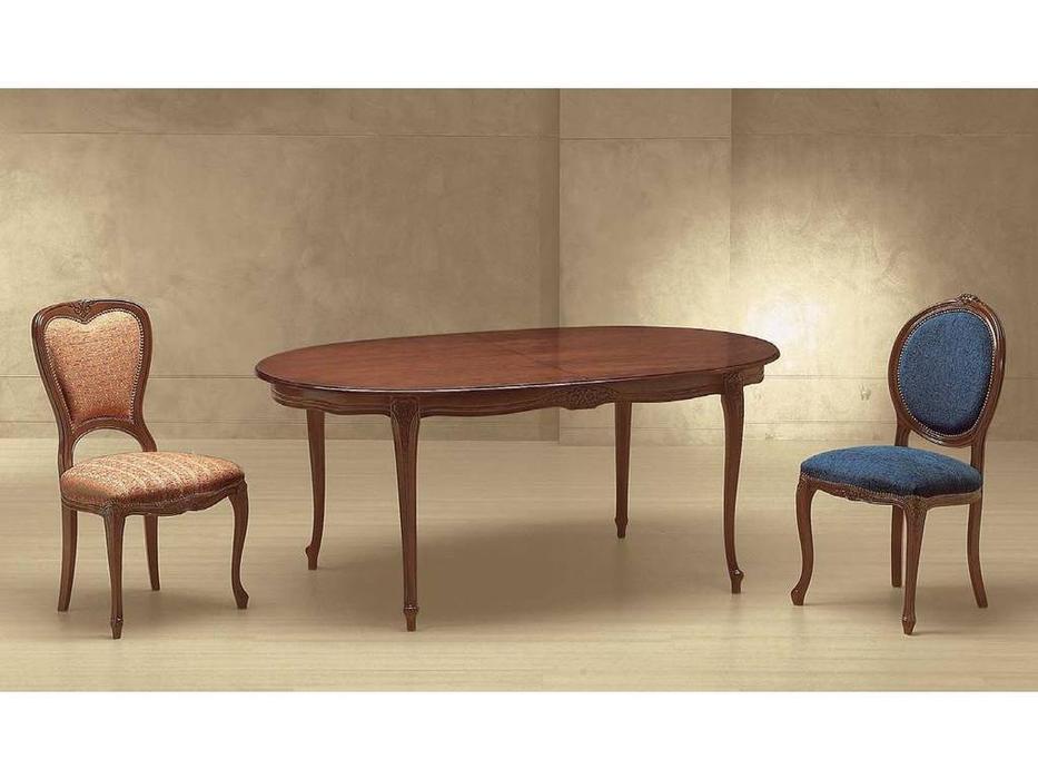 Morello Gianpaolo: Brianzolo: стол обеденный  (walnut)