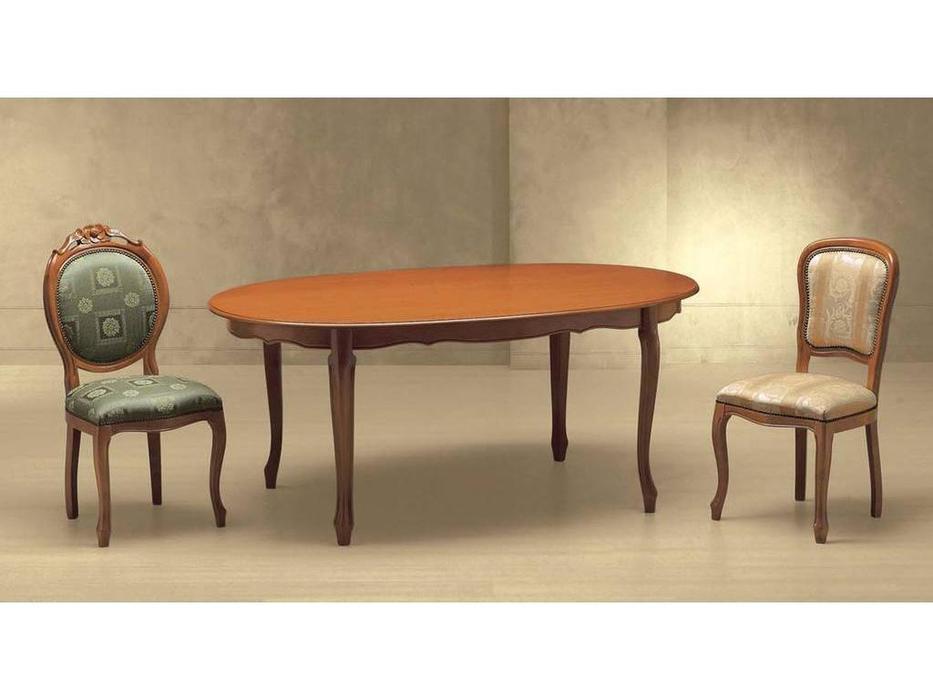 Morello Gianpaolo: 800: стол обеденный  раскладной (cilegio)