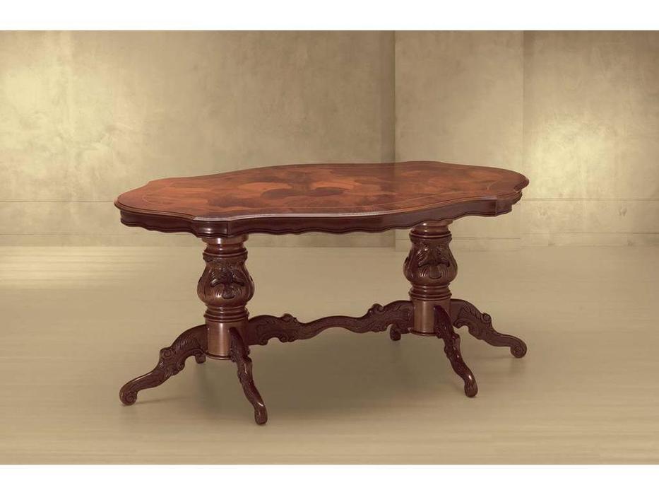 Morello Gianpaolo: Fiammetta: стол обеденный  (walnut)