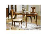 Solomando: стол обеденный  (орех, золото)