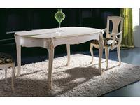 Solomando: стол обеденный  раскладной (marfil oro)