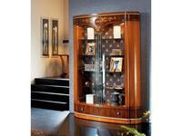 Solomando: Deluxe: витрина 2-х дверная  (olivato)