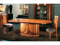 Solomando: Deluxe: стол обеденный овальный  (olivato)