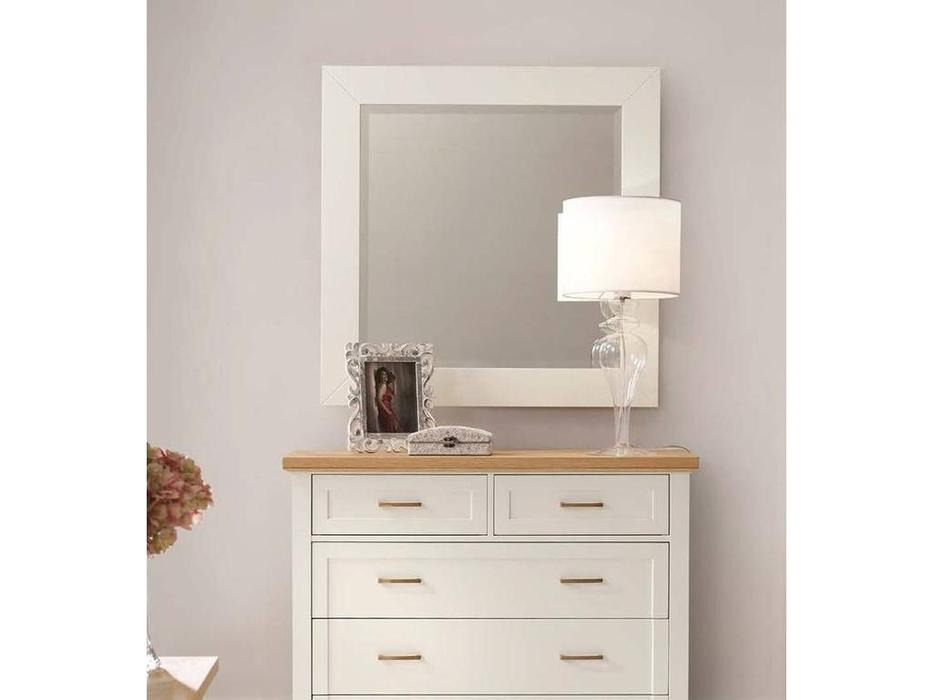 Panamar: зеркало настенное  (белый)