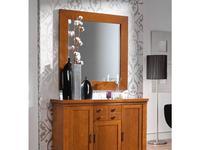 Panamar: зеркало настенное  (орех, вишня)