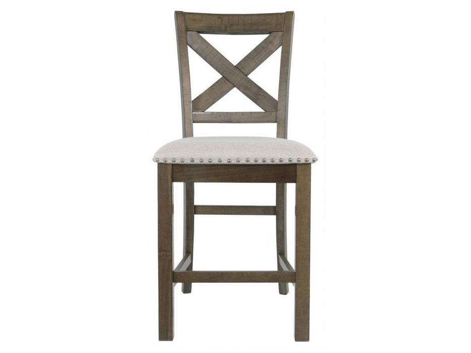 Ashley: Moriville: стул барный  (орех, ткань)