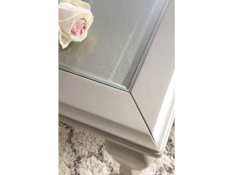 Ashley: Coralayne: стол обеденный раскладной  (серебро)