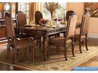 Ashley: North Shore: стол обеденный  раскладной (коричневый)