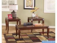 Ashley: Mattie: стол журнальный комплект  (коричневый)