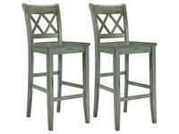 Ashley: Mestler: стул барный  (зеленый)