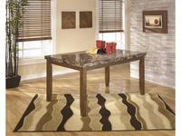 Ashley: Lacey: стол обеденный  (коричневый)
