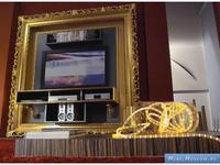 Vismara Desing: Baroque: панель для TV 222х51х224 (oro foglia)