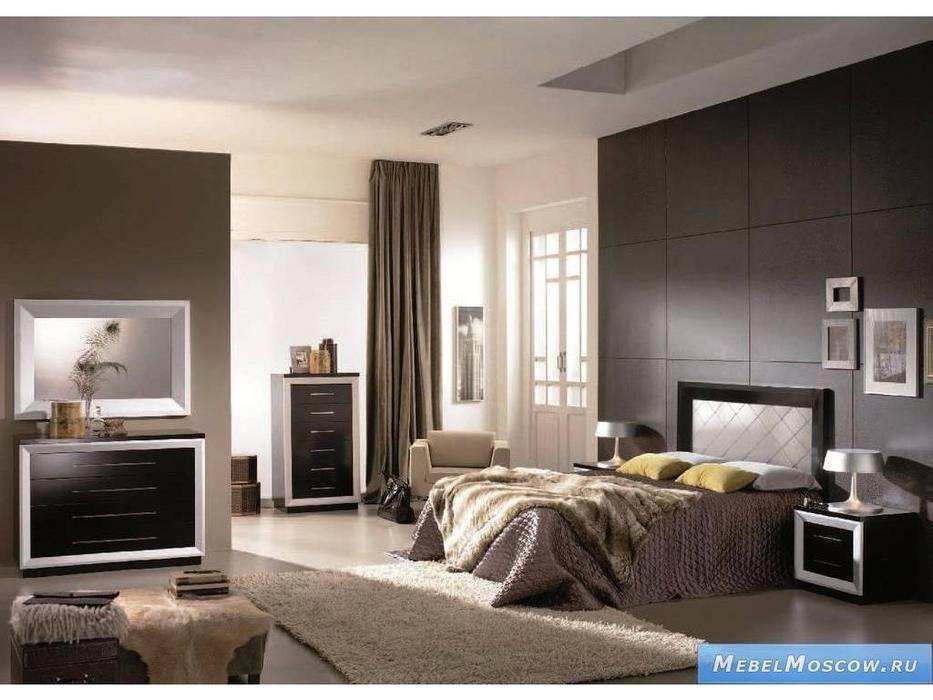 Mobax: спальная комната (lacados B, черный)