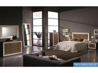 Mobax: спальная комната (lacados B, орех)