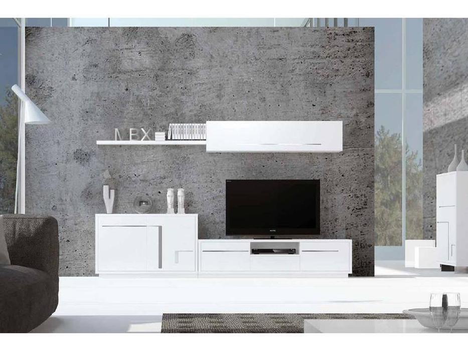 Mobax: Ilusion Home: стенка в гостиную  (белый)
