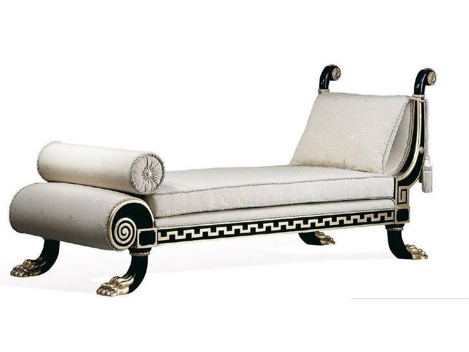 Epoca: Maxima collection: оттоманка Greca  ткань (черный, золото)
