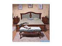Simex: Regallis: кровать 160х200  (орех, инкрустация)
