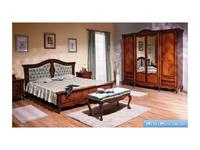 Simex: Regallis: спальная комната c 5 дверным шкафом (орех, инкрустация)