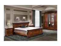 Simex: Венеция Люкс: кровать 160х200 (орех)
