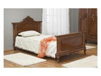Simex: Роял: кровать 90х200 (орех)