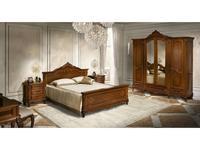 Simex: Клеопатра: спальная комната (орех)