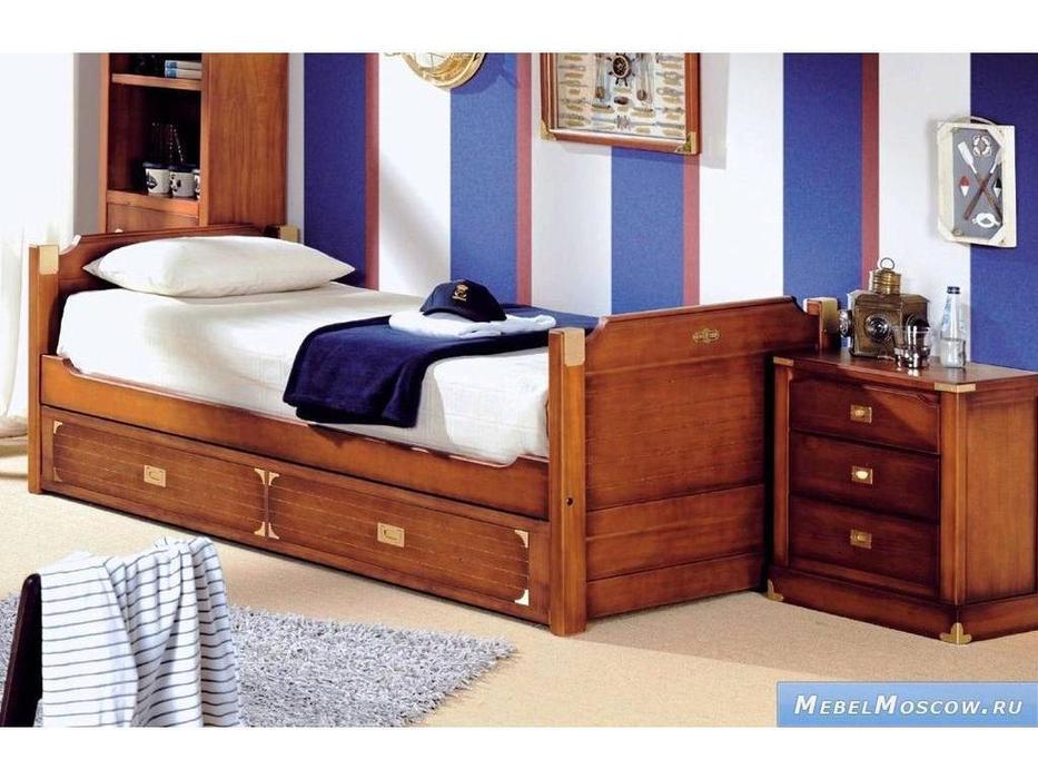 Artemader: Camarote: кровать 90x190  (орех)