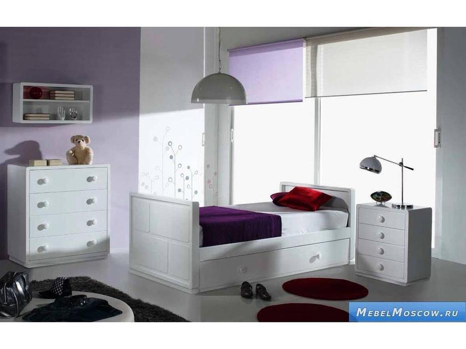 Artemader: Art-Deco: детская комната (белый)