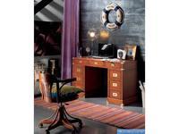 Artemader: Camarote: стол письменный 2-х тумбовый  (орех)