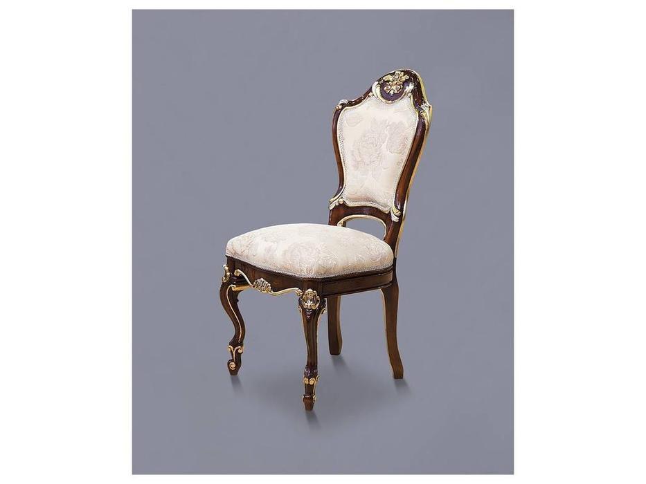Nord Simex: Аркос: стул  (золото, серебро, ткань)