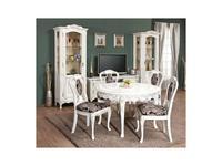 Simex: Флора: гостиная с круглым столом (слоновая кость)