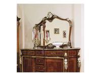 Nord Simex: Аркос: зеркало для прилавка  (золото, серебро)