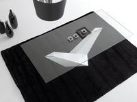 Idealsedia: Arica: стол обеденный (белый, стекло)