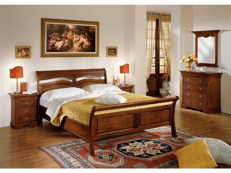 Cavio: Fiesole: кровать 180х200 Фиесоле  (орех фиорентино)
