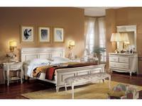 Cavio: Франческа: кровать 160х200 с выс. изн.  (crema)