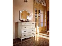 Cavio: Madeira: зеркало для комода  (белый лак, серебро)