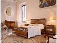Cavio: Madeira Intarsio: кровать 160х200 Мадейра с интарсией и выс.изн.  (черешня мадейра)