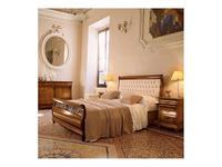 5103977 кровать двуспальная Cavio: Madeira Intarsio