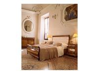 5103978 кровать двуспальная Cavio: Madeira Intarsio