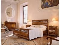 Cavio: Madeira Intarsio: кровать 180х200 Мадейра интарсия и выс.изн.  (черешня мадейра)