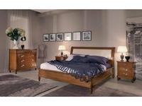 Cavio: Como: кровать 180х200  (ciliegio)